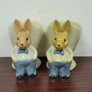 Bethany Lowe Set of 2 Easter Egg Holders
